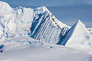 Snow capped mountains, Andvord Bay, Antarctic Peninsula