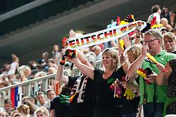 Fans at European Cheerleading Championship 2011, on July 2, 2011, in SRC Stozice, Ljubljana, Slovenia (Photo by Matic Klansek Velej / Sportida)