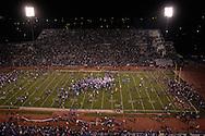 University of Kansas fans rush the field after the Jayhawks beat Kansas State at Memorial Stadium in Lawrence, Kansas, November 18, 2006.  Kansas beat K-State 39-20.<br />