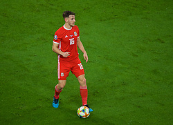 CARDIFF, WALES - Sunday, October 13, 2019: Wales' Tom Lockyer during the UEFA Euro 2020 Qualifying Group E match between Wales and Croatia at the Cardiff City Stadium. (Pic by Paul Greenwood/Propaganda)