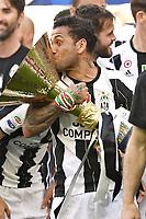 Dani AlvesLeonardo Bonucci<br /> Esultanza Juventus Campione d'Italia . Celebration Juventus Italian championship winner <br />  Torino 21-05-2017 Juventus Stadium Football Calcio Serie A 2016/2017 Juventus - Crotone .<br /> Foto Image Sport / Insidefoto