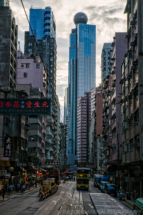 The Westpoint Tower & Des Vouex Road, Sheung Wan