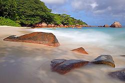 24.07.2015, Insel Praslin, SYC, auf den Seychellen, im Bild Strand und Felsen des Anse Lazio am Abend // Holiday on the Seychelles at the Insel Praslin, Seychelles on 2015/07/24. EXPA Pictures © 2015, PhotoCredit: EXPA/ Eibner-Pressefoto/ Schulz<br /> <br /> *****ATTENTION - OUT of GER*****