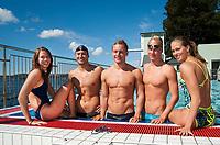 Svømming<br /> 17 . August 2011<br /> Bergen Svømme club<br /> Nordnesbadet<br /> Nå lanserer Norges beste svømmeklubb målt i antall medaljer i de to siste NM, en spesialrettet satsing mot OL. Satsingen kalles BSC Swim Team og satser mot OL 2012. De aktuelle utøverne i treningsgruppen er Monica W. Johannesen (21) , Gard Kvale (27) , Lavrans Solli (19) , Alexander Skeltvedt (24) og <br />  Cecilie W. Johannesen (21),<br /> Foto: Astrid M. Nordhaug