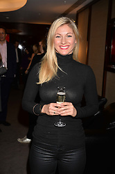 Cici Coleman at a private screening of Jackie hosted by Rosie Nixon and Tabitha Webb at the Bulgari Hotel, 171 Knightsbridge, London,  England. 12 January 2017.