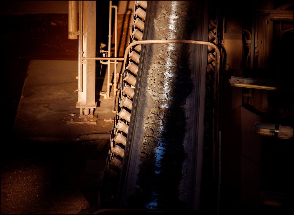 Part of a mine processing plant in Western Australia.