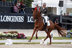 Van Der Meer Patrick, NED, Presidents First Apple<br /> Longines FEI/WBFSH World Breeding Dressage Championships for Young Horses - Ermelo 2017<br /> © Hippo Foto - Dirk Caremans<br /> 03/08/2017