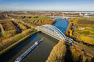 Nederland, Amsterdam,  20181204<br /> Amsterdam-Rijnkanaal ter hoogte van Amsterdam Zuidoost.<br />  <br /> Foto (c) Michiel Wijnbergh