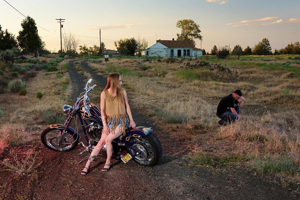 USA, Oregon, America, American,American Dreamscpes End of the road