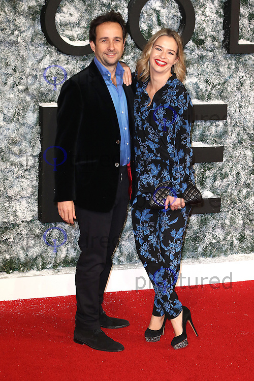 Matt Hermer, Marissa Hermer, Collateral Beauty - European film premiere, Leicester Square, London UK, 15 December 2016, Photo by Richard Goldschmidt