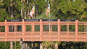 Sarasota. Florida USA., Sunday,  01/10/2017, General View, Pedestrian Bridge,   2017 FISA World Rowing Championships, Nathan Benderson Park,<br /> [Mandatory Credit. Peter SPURRIER/Intersport Images].<br /> <br /> 08:59:13