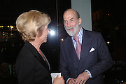 The Duchess of Marlborough and Prince Michael of Kent. 'The Road to Abtsraction' an exhibition of paintings by Rosita Marlborough. the Fleming Collection. 13 Berkeley St. London W1. 31 March 2005. ONE TIME USE ONLY - DO NOT ARCHIVE  © Copyright Photograph by Dafydd Jones 66 Stockwell Park Rd. London SW9 0DA Tel 020 7733 0108 www.dafjones.com