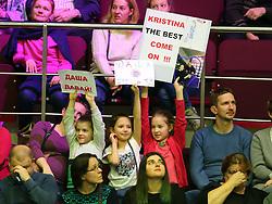 February 3, 2018 - St. Petersburg, Russia - February 3, 2018 - St. Petersburg, Russia - Russia, St. Petersburg, international female tennis tournament of WTA St.Petersburg Ladies Trophy 2018 - Daria Kasatkina-Kristina Mladenovich. (Credit Image: © Russian Look via ZUMA Wire)