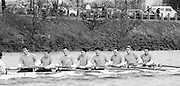 Chiswick. London.<br /> Eights starting from Mortlake<br /> Stole. Guy POOLEY.<br /> 1987 Head of the River Race over the reversed Championship Course Mortlake to Putney on the River Thames. Saturday 28.03.1987. <br /> <br /> [Mandatory Credit: Peter SPURRIER;Intersport images] 1987 Head of the River Race, London. UK