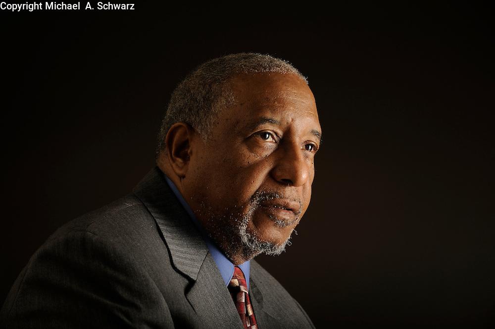1/28/10 10:39:04 -- Atlanta, GA, U.S.A<br /> Dr. Bernard LaFayette is a Professor of Theology at Emory University in Atlanta.<br /> <br /> Photo by Michael  A. Schwarz