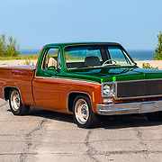 1975 GMC  Siera Grande Two Tone Pickup Truck