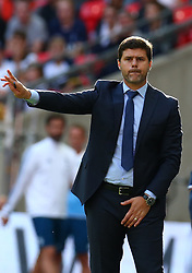 August 5, 2017 - London, England, United Kingdom - Tottenham Hotspur manager Mauricio Pochettino .during the Friendly match between Tottenham Hotspur and Juventus at Wembley stadium, London, England on 5 August 2017. (Credit Image: © Kieran Galvin/NurPhoto via ZUMA Press)