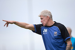 Elgin City manager Jim Weir. <br /> East Fife 2 v 1 Elgin City, Ladbrokes Scottish Football League Division Two game played 22/8/2015 at East Fife's home ground, Bayview Stadium.