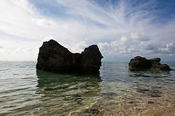 The beautiful beach at Cambridge Resort in Bermuda
