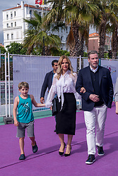 File photo - John Travolta and wife Kelly Preston and son Benjamin Travolta strolls in Cannes Film Market area, heading to the Saudi Pavilion, during the 71st Cannes International Film Festival near Palais des Festivals, in Cannes, France, on May 14, 2018. Kelly Preston, the actress married to John Travolta, has died after a private battle with breast cancer, aged 57. The actress had been battling against breast cancer for two years, with a family representative confirming news of her passing to People today. Photo by Ammar Abd Rabbo/ABACAPRESS.COM