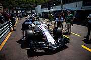 May 24-27, 2017: Monaco Grand Prix. Lance Stroll, Williams Martini Racing, FW40