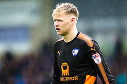 Aaron Ramsdale of Chesterfield - Mandatory by-line: Robbie Stephenson/JMP - 28/04/2018 - FOOTBALL - Proact Stadium - Chesterfield, England - Chesterfield v Wycombe Wanderers - Sky Bet League Two