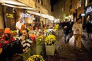 Restaurant in der Karlsstrasse (Karlova Ulice) welche von der Karlsbrücke in Richtung Altstädter Ring führt.