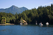 Tenedos Bay, Desolation Sound, British Columbia, Canada