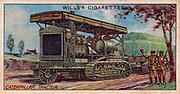 Military Motors series, 1916: British Caterpillar Tractor.