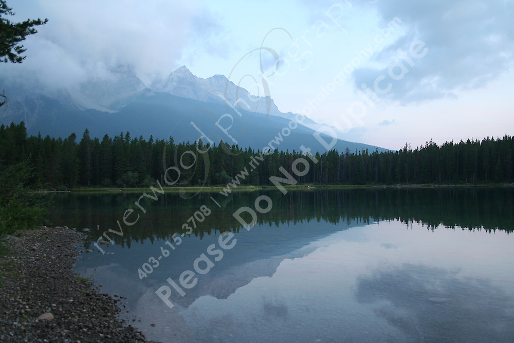 Two-Jack Lake in the Morning