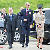 Royal Family Attend 100th Somme Anniversary