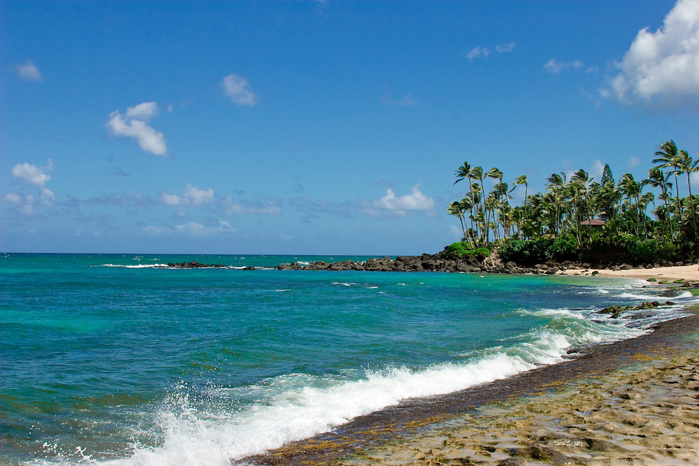 Another Beautiful day on Oahu's Turtle Beach.