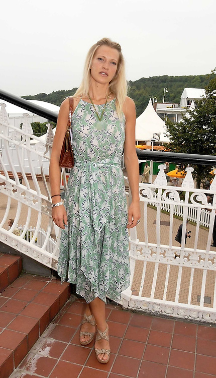 LADY ALEXANDRA SPENCER-CHURCHILL at the 3rd day of the 2008 Glorious Goodwood racing festival at Goodwood Racecourse, West Sussex on 31st July 2008.<br /> <br /> NON EXCLUSIVE - WORLD RIGHTS