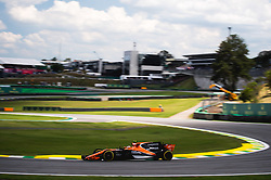 November 10, 2017 - Brazil - SAO PAULO, SP - 10.11.2017: 2017 F1 GP BRAZIL - Stoffel Vandoorne (BEL) during the free practice sessions of the Friday Brazil GP of F1 2017 held at the Autodromo of Interlagos in Sao Paulo, SP. (Credit Image: © Fotoarena via ZUMA Press)