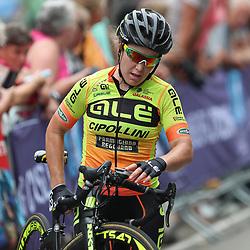 30-08-2017: Wielrennen: Boels Ladies Tour: Arnhem  <br />Chloe Hosking crashed in the last 200meters