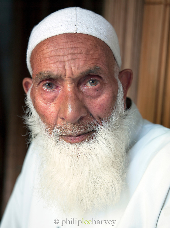 Local man in Srinigar, Kashmir, India