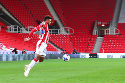 Tyrese Campbell of Stoke City - Mandatory by-line: Nick Browning/JMP - 24/11/2020 - FOOTBALL - Bet365 Stadium - Stoke-on-Trent, England - Stoke City v Norwich City - Sky Bet Championship