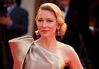 Cate Blanchett at the premiere gala screening of the film Suspiria at the 75th Venice Film Festival, Sala Grande on Saturday 1st September 2018, Venice Lido, Italy.