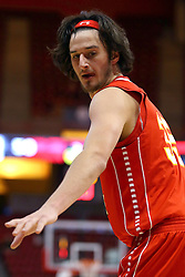 26 November 2016:  Zach Hankins during an NCAA  mens basketball game between the Ferris State Bulldogs the Illinois State Redbirds in a non-conference game at Redbird Arena, Normal IL