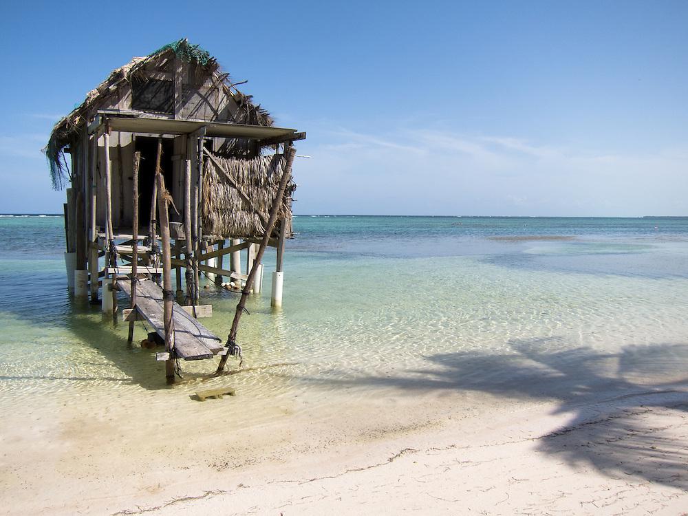 Ambergris Caye, Belize 8/31/2012.Turtleman's House..Alex Jones / www.alexjonesphoto.com