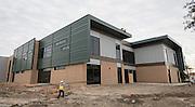 Construction at the Wisdom High School, January 26, 2017.