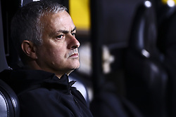 December 12, 2018 - Valencia, Spain - Head coach of Manchester United  Jose Mourinho before  UEFA Champions League Group H between Valencia CF and Manchester United at Mestalla stadium  on December 12, 2018. (Photo by Jose Miguel Fernandez/NurPhoto) (Credit Image: © Jose Miguel Fernandez/NurPhoto via ZUMA Press)