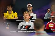 May 25-29, 2016: Monaco Grand Prix. Nico Rosberg  (GER), Mercedes, FIA Press Conference