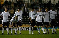 Photo: Steve Bond.<br />Derby County v Blackpool. Carling Cup. 28/08/2007. Tension as Derby watch the shootout