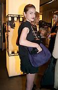 TALI LENNOX, Vogue: Fashion's Night Out: Armani. Bond st.  London. 8 September 2010.  -DO NOT ARCHIVE-© Copyright Photograph by Dafydd Jones. 248 Clapham Rd. London SW9 0PZ. Tel 0207 820 0771. www.dafjones.com.