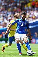 Antonio Candreva Italy <br /> Toulouse 17-06-2016 Stade de Toulouse <br /> Football Euro2016 Italy - Sweden / Italia - Svezia Group Stage Group E<br /> Foto Matteo Ciambelli / Insidefoto