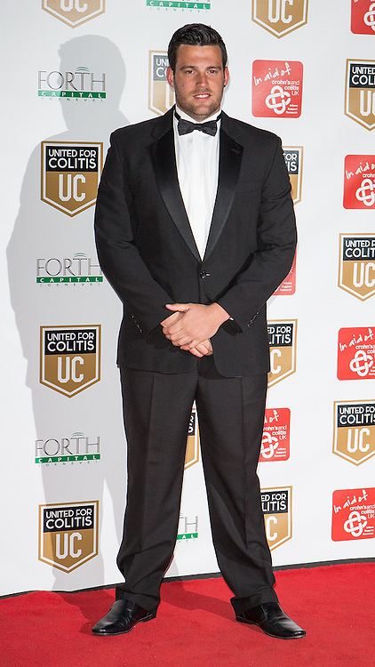 © Licensed to London News Pictures . 27/03/2014 . Manchester , UK . Brett Morsearrives at a gala dinner at Manchester United Football Club in support of United for Colitis , in aid of Crohn's And Colitis UK . Photo credit : LNP
