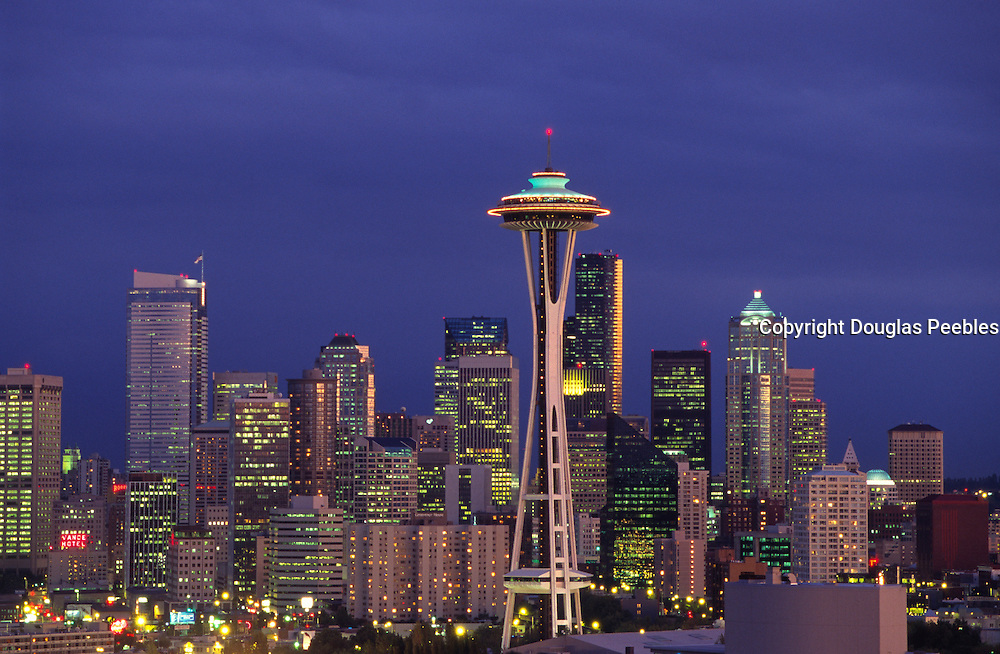 Space Needle, Seattle, Washington, USA<br />