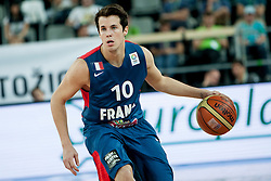Thomas Heurel of France during last friendly match before Eurobasket 2013 between National teams of Slovenia and France on August 31, 2013 in SRC Stozice, Ljubljana, Slovenia. (Photo by Urban Urbanc / Sportida.com)