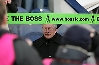 Photo: Lee Earle.<br /> West Bromwich Albion v Manchester United. The Barclays Premiership. 18/03/2006. United manager Sir Alex Ferguson.